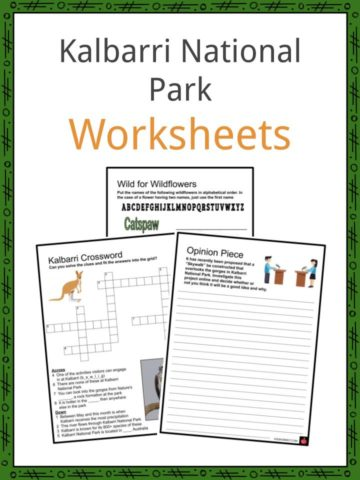 Kalbarri National Park Worksheets