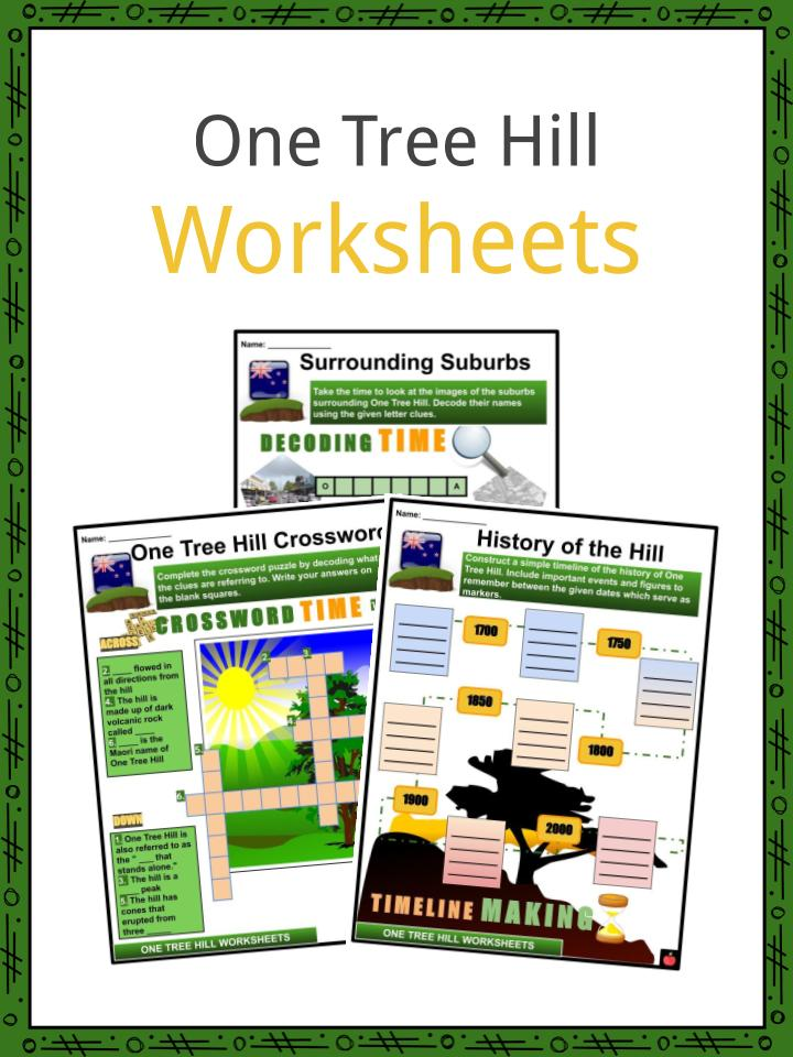 One Tree Hill Worksheets