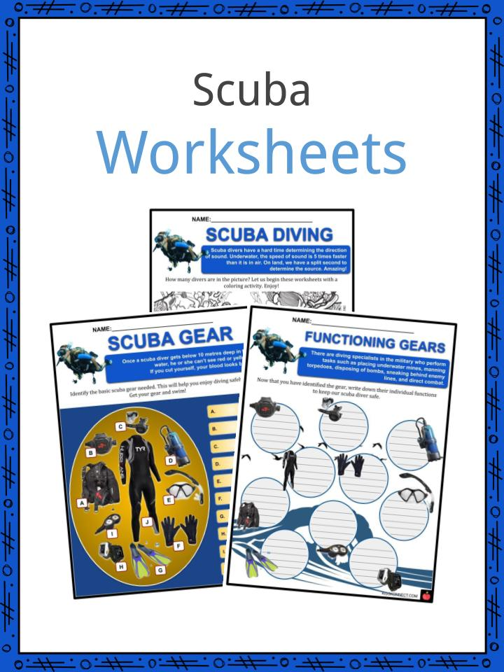 Scuba Worksheets