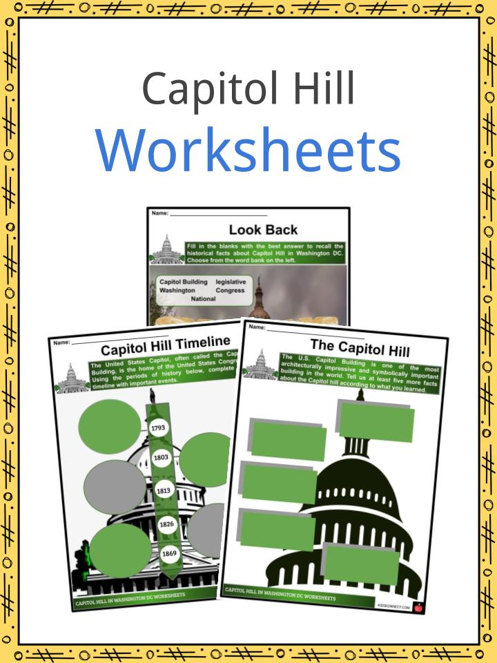 Capitol Hill Worksheets
