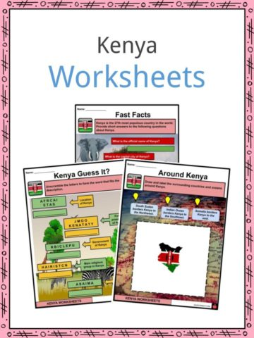 Kenya Worksheets
