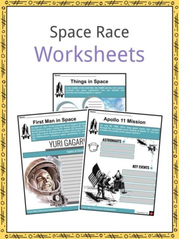 Space Race Worksheets
