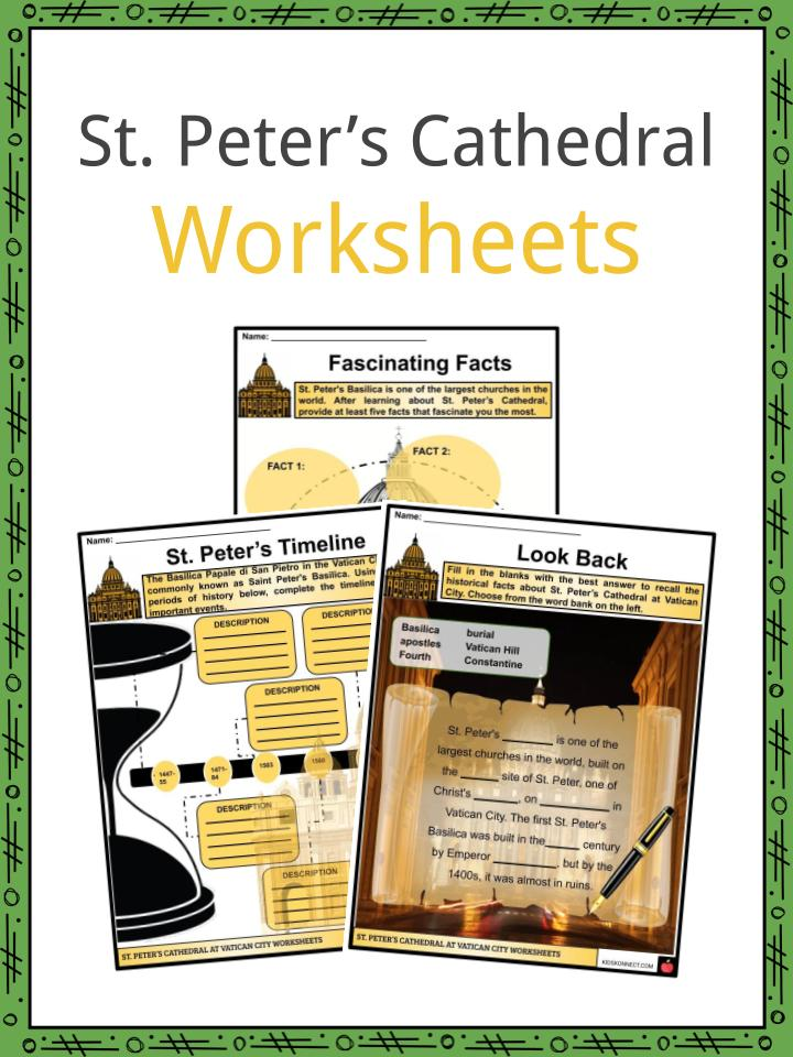 St. Peter's Cathedral Worksheets