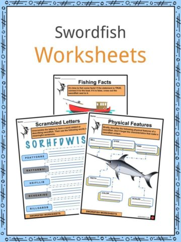Swordfish Worksheets