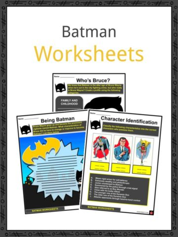 Batman Worksheets
