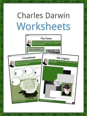 Charles Darwin Worksheets