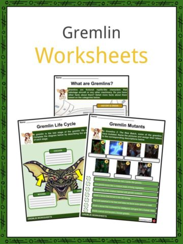 Gremlin Worksheets