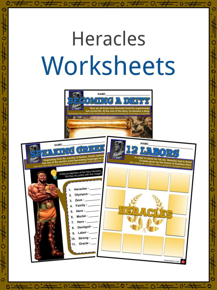 Heracles Worksheets