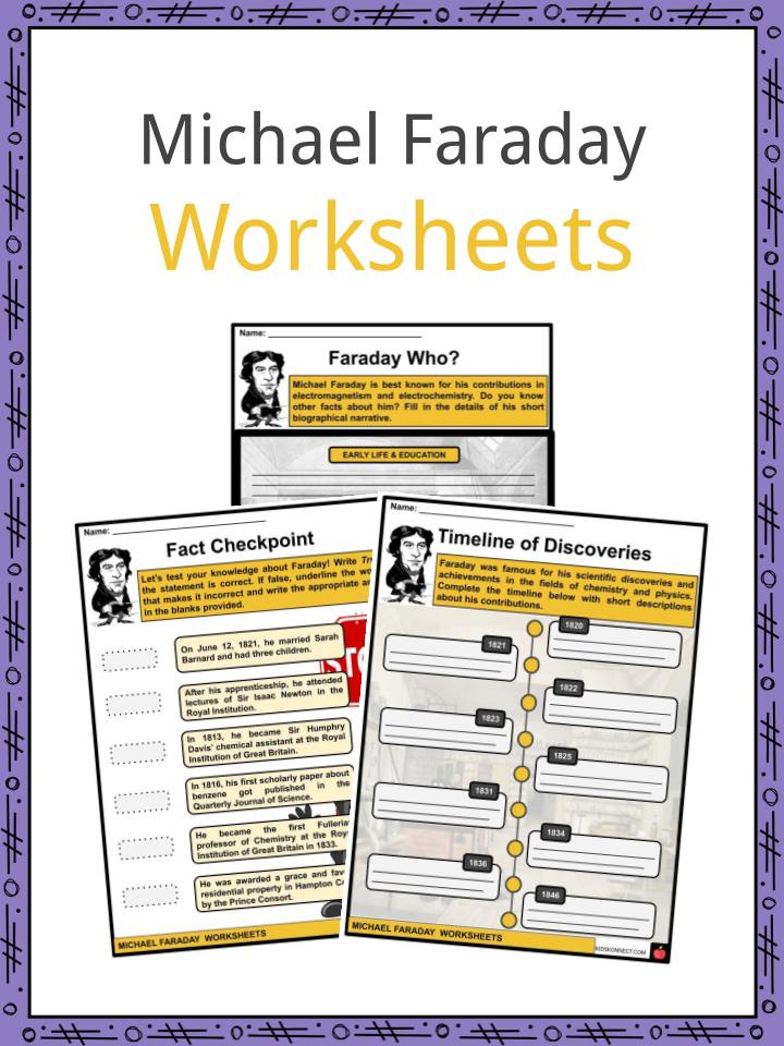 Michael Faraday Worksheets