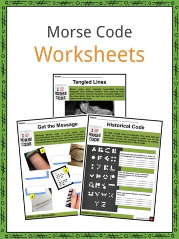 Morse Code Worksheets