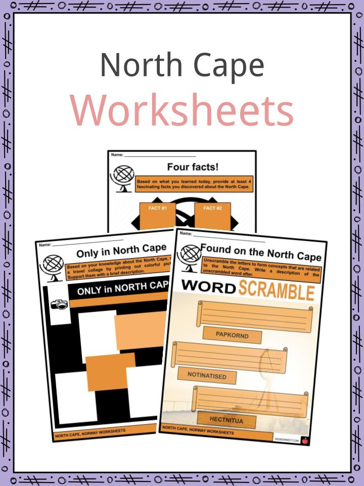 North Cape Worksheets