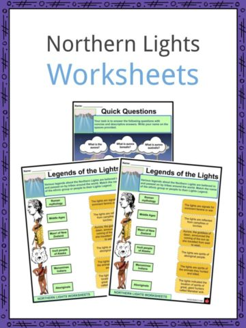 Northern Lights Worksheets