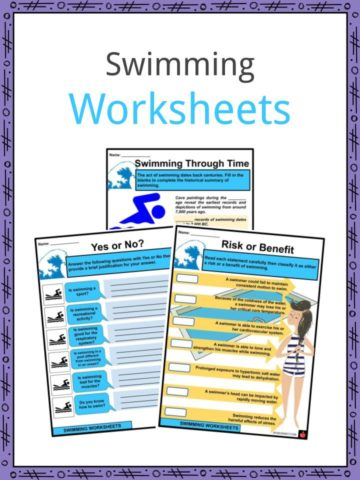 Swimming Worksheets