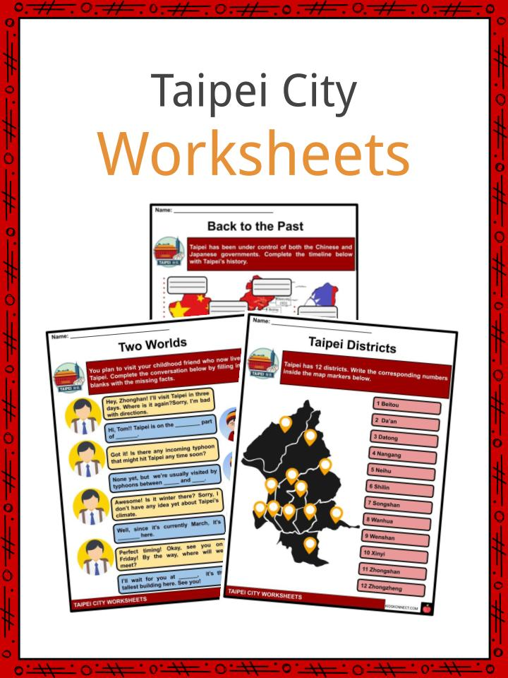 Taipei Worksheets
