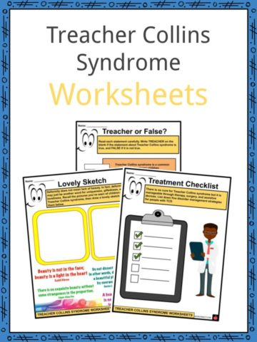 Treacher Collins Syndrome Worksheets