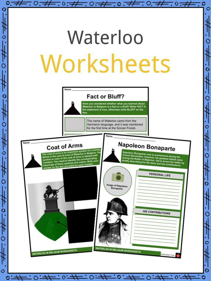 Waterloo Worksheets