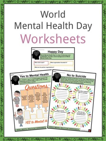 World Mental Health Day Worksheets