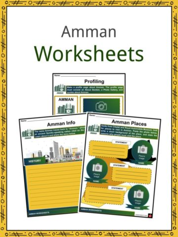 Amman Worksheets