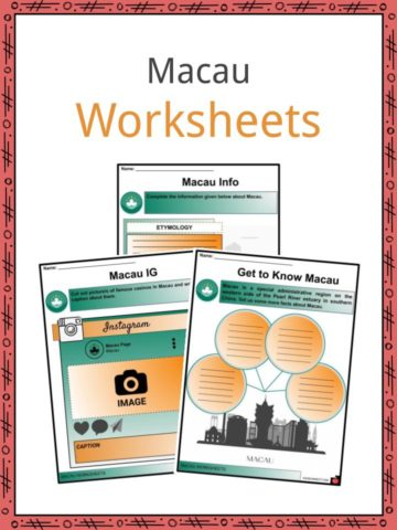 Macau Worksheets