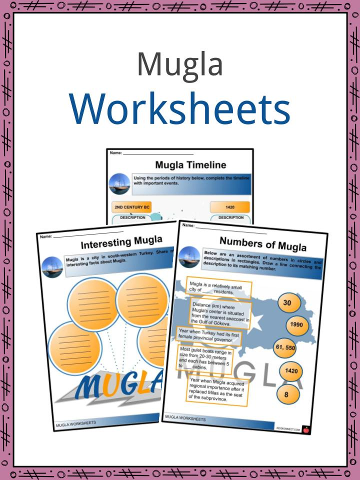 Mugla Worksheets