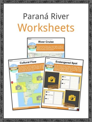 Parana River Worksheets