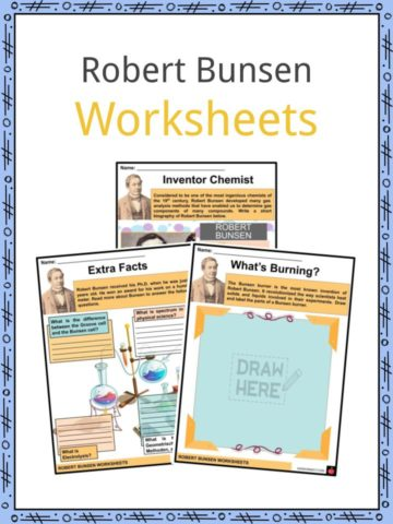 Robert Bunsen Worksheets