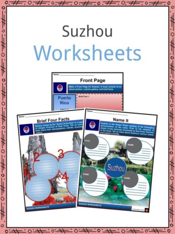 Suzhou Worksheets
