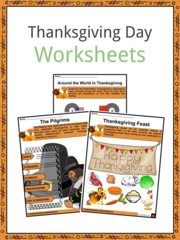 Thanksgiving Day Worksheets