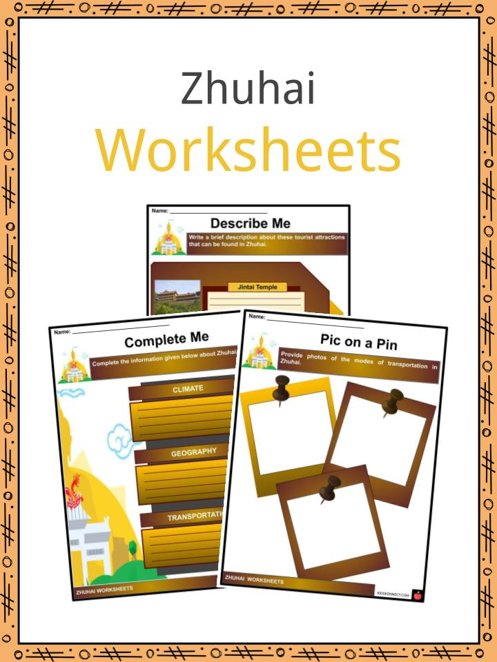 Zhuhai Worksheets