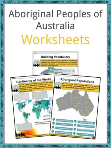 Aboriginal Peoples of Austrialia Worksheets