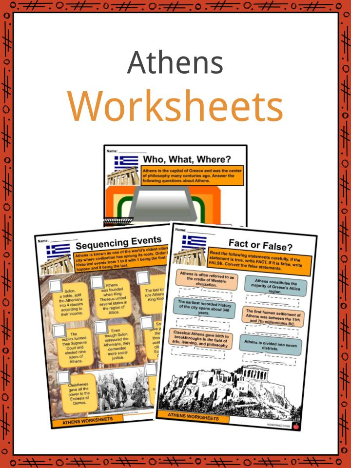Athens Worksheets