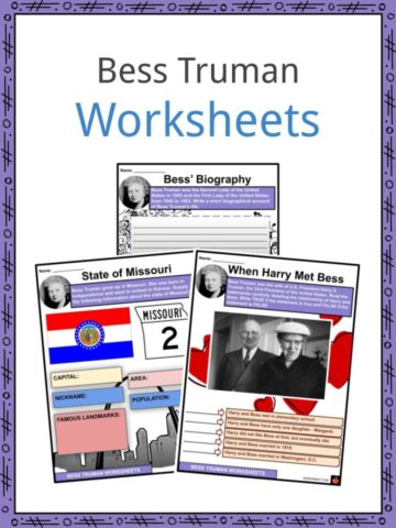 Bess Truman Worksheets