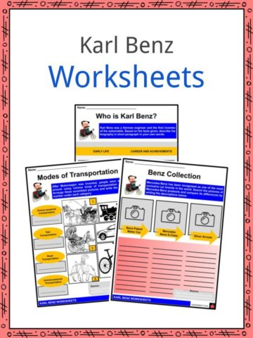 Karl Benz Worksheets
