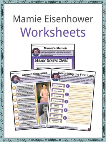 Mamie Eisenhower Worksheets