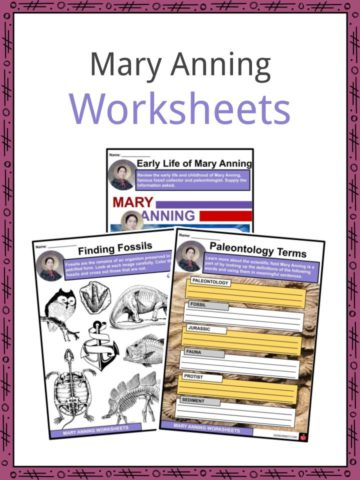 Mary Anning Worksheets