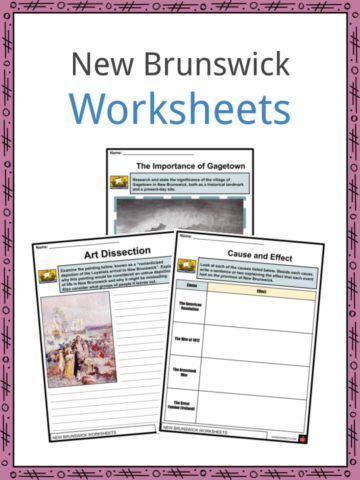 New Brunswick Worksheets