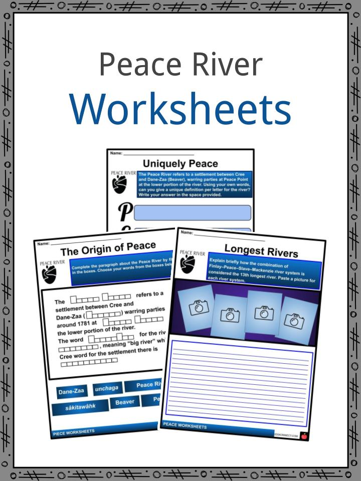 Peace River Worksheets