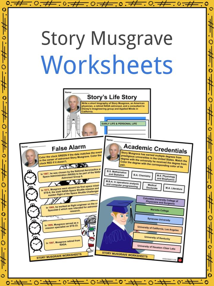 Story Musgrave Worksheets