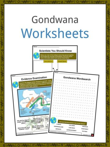 Gondwana Worksheets
