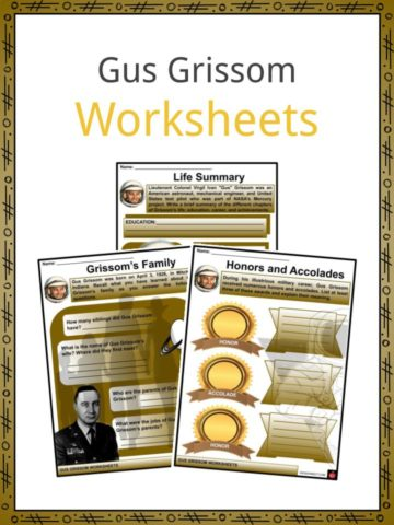 Gus Grissom Worksheets