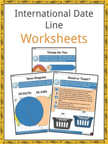 International Date Line Worksheets