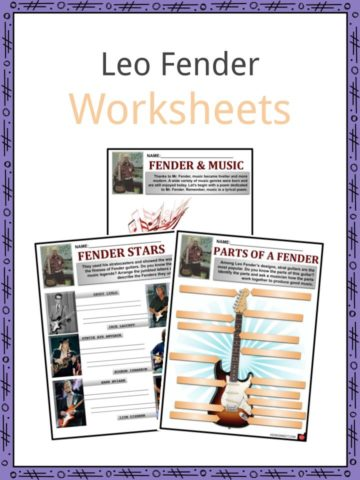 Leo Fender Worksheets