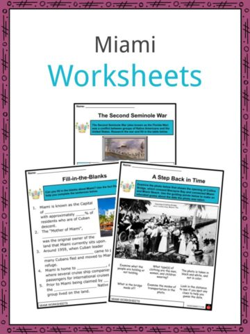 Miami Worksheets