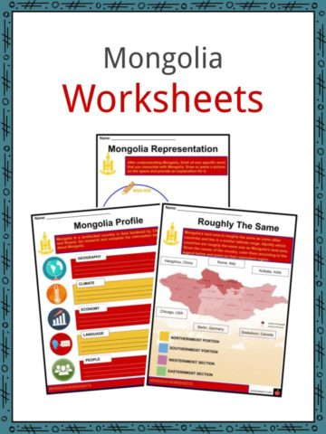 Mongolia Worksheets