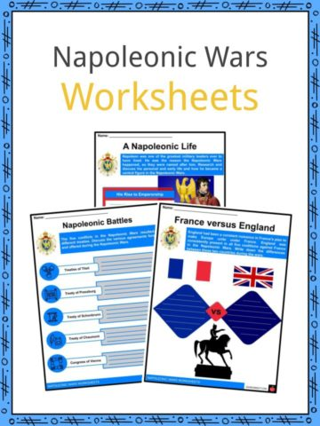 Napoleonic Wars Worksheets