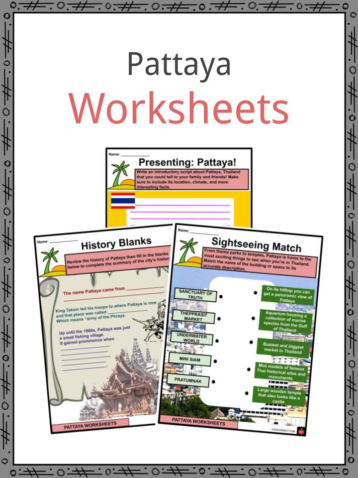 Pattaya Worksheets
