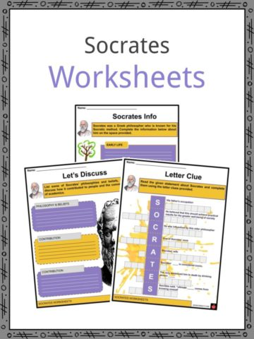 Socrates Worksheets
