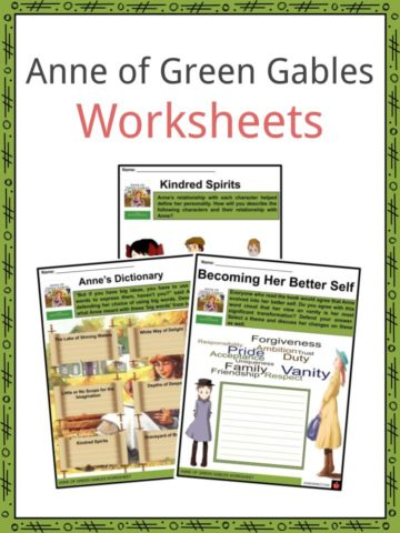 Anne of Green Gables Worksheets
