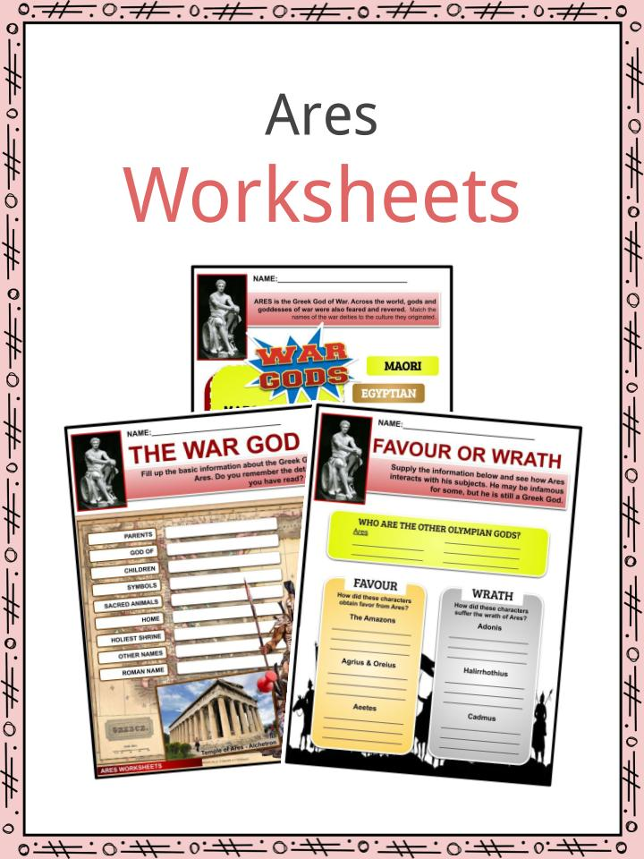 Ares Worksheets