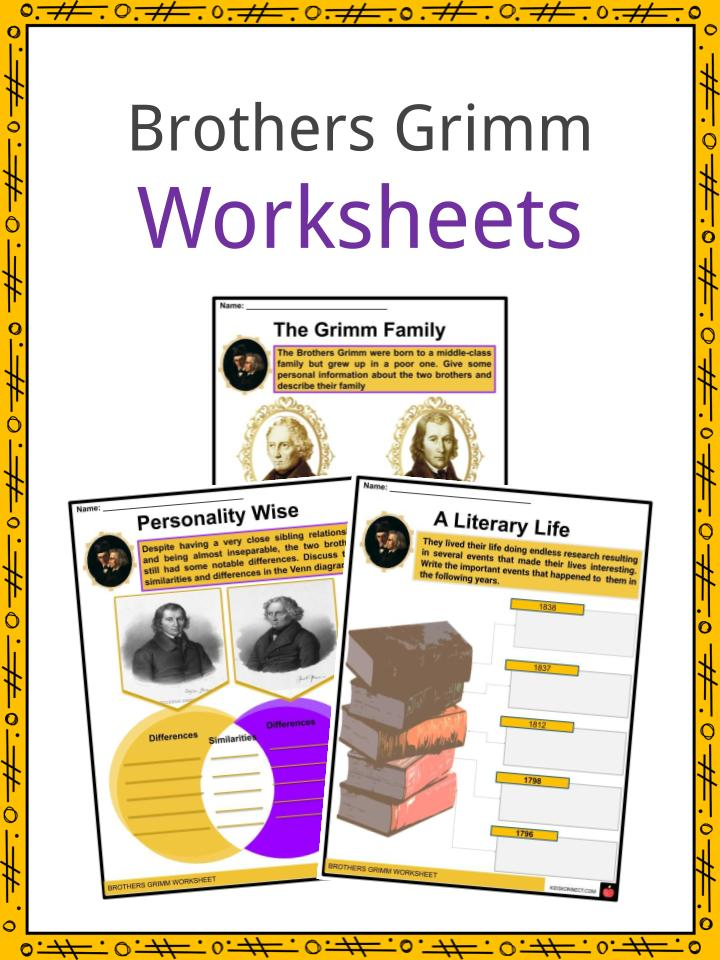 Brothers Grimm Worksheets